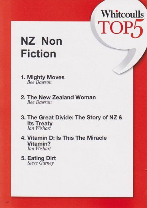Whitcoulls Top 5 NZ Non Fiction, September 2012