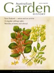 Cover of Australian Garden History vol 30 no 4 April 2019